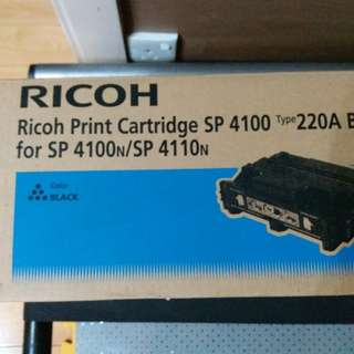 $410  Ricoh print cartridge SP 4100/220A Black   for sp4100n/ sp4110n