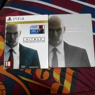HITMAN STEELBOOK EDITION WITH GAME