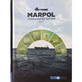 MARPOL Consolidated Edition 2017 Books (IMO IE520E) IMO Publishing