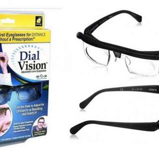 Dial Vision (Adjustable Lens Eyeglasses) ☆Buy 1 Get 1 Free☆