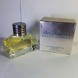 Pure Turquoise Ralph Lauren 2.5 OZ / 75ML  AUTHENTIC
