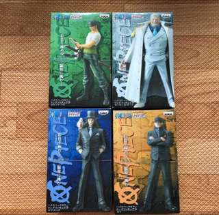 Banpresto HSCF One piece Series 17-20
