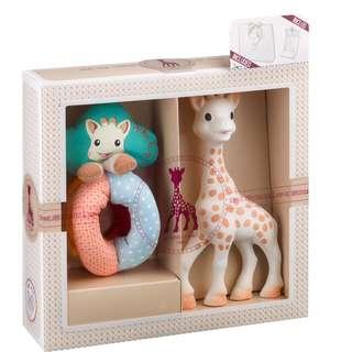 Sophie la Girafe Sophiesticated Rattle Set