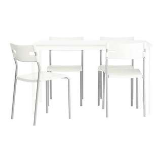 Ikea dining set table and 4 chairs