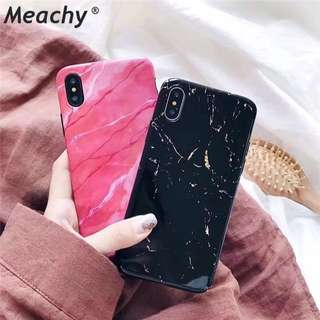 (iphoen) Soft silicone marble