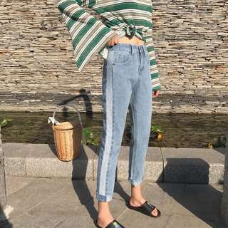 Korean Straight Jeans for PRE ORDER