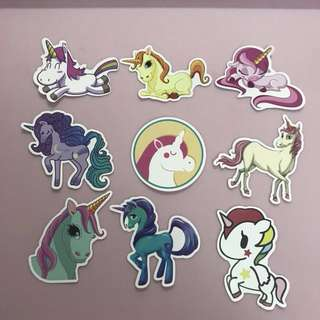 Unicorn stickers 🦄 set A