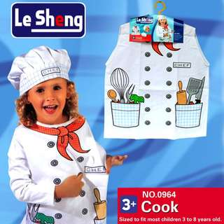 Chef/Cook Kids Costume