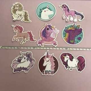 Unicorn stickers 🦄 Set B