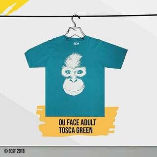OU Face T-shirt Tosca