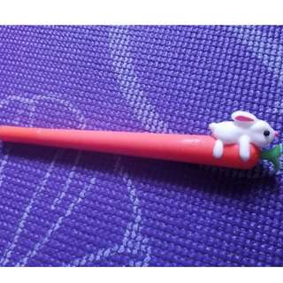 Carrot/Rabbit Pen (Blue)