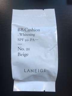 Laneige Whitening BB cushion refill