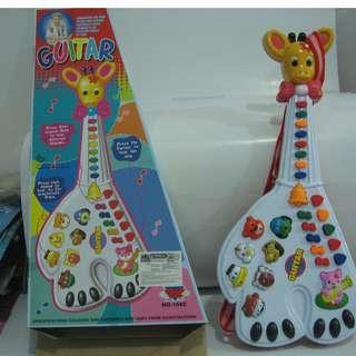 Gitar Piano Jerapah / Mainan Anak Gitar dan Piano Jerapah