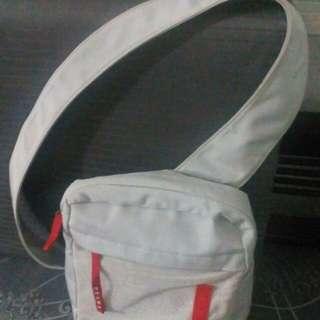 Vintage authentic Prada sling messenger bag