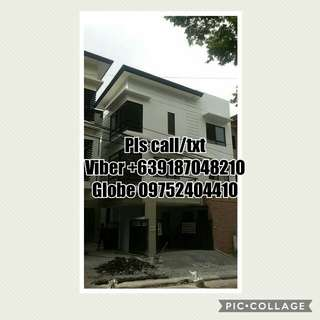 Multiple Unit Townhouse Isidora Hills Quez0n City