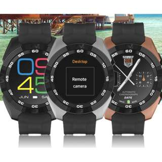 """G5 Smart Sports Watch, 1.5"""" Display, Bluetooth 4.0, HD Screen, Heart Rate, Sleep Monitor, Pedometer for IOS Android Phone"""