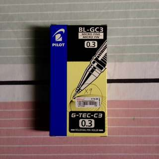 Pilot G-Tec C3 (1 Box [12 pieces])