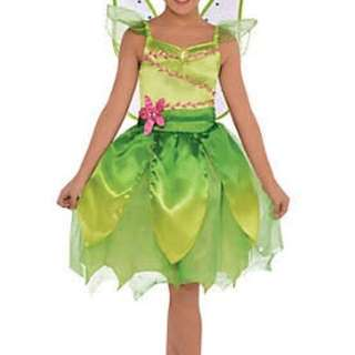 Disney Tinkerbell Costume with Fairy Wig