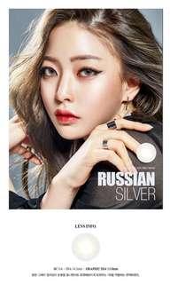 O-Lens Russian 1 Day Silver Con 隱形眼鏡