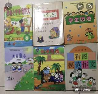 Chinese P5 & 6 Composite book each $6
