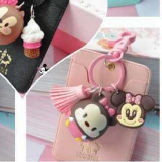 Tsum tsum card holder minnie mouse only pink