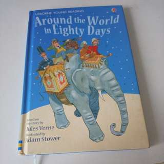 Usborne Books Around the World in Eighty Days
