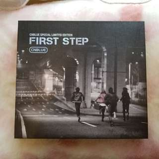 Cnblue first step 限量版