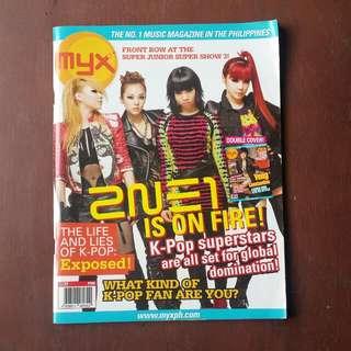 MYX Magazine 2NE1 and Yeng Constantino Cover