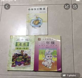 Chinese P2 composition Books each $6