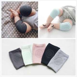 [PO37]1 Sets 5 Colours Kids Anti-slip Elbow Cushion Crawling Knee Pad