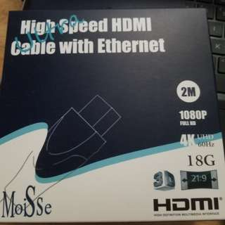 最新HDMI 線 (high speed with ethernet)