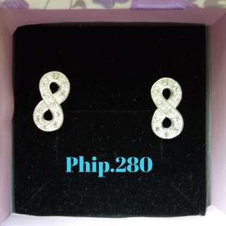 Silver Earrings (Eternity Stud)