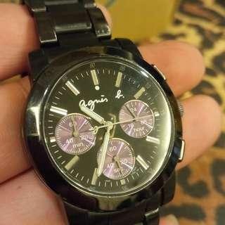 小b三眼計時錶