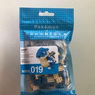 Pokémon X Nanoblock 水箭龜