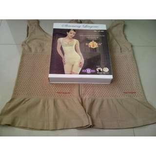 Natasha Slimming Suit Asli Original Double Infrared Pelangsing