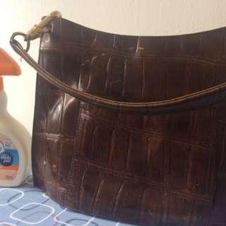 Authentic Capacci handbag