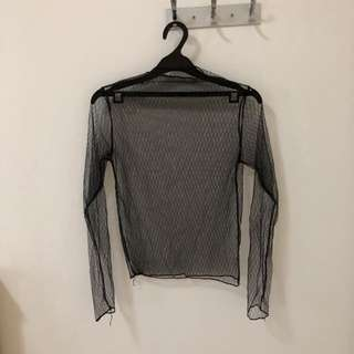 Pluffy's choice sheer top