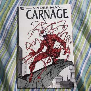 Marvel Comics Spiderman Carnage Venom