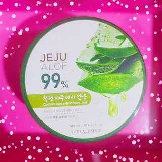 Jeju Aloe 99% Fresh Soothing Gel - Originally P200