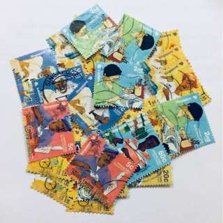 Promotion Lot: 49 stamps