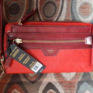 SALE!!!Red Tutilo Wallet (Brand New)