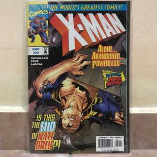 Marvel comic x-man Aug #29
