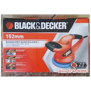Black and Decker Electric Car Polisher Waxer