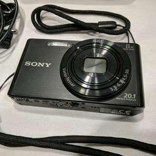 SONY DSC W830 - 20.1MP - 16GB SDHC - Zeiss Vario Lens - Digital camera