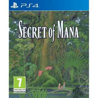 Ps4 Secret Of Mana R3