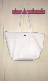 White Lacoste Handbag