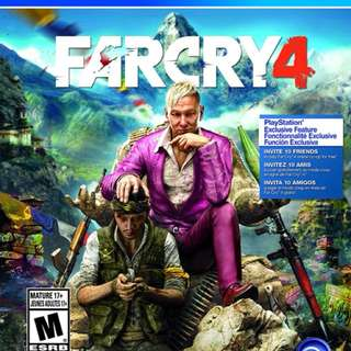 Digital Far Cry 4 (Not redeemed)
