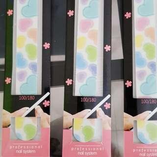Korean made Nail File (Packs of 10)