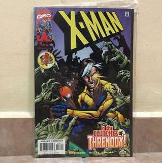 Marvel comics x-man #58