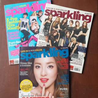 [REPRICED FOR BUNDLE] Sparkling Magazines